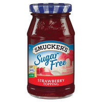 Smuckers Smucker's Sugar Free Strawberry Flavored Topping, 10-Ounce (Pack of 6)