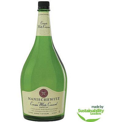 Manischewitz Cream White Concord Wine, 1.5 l