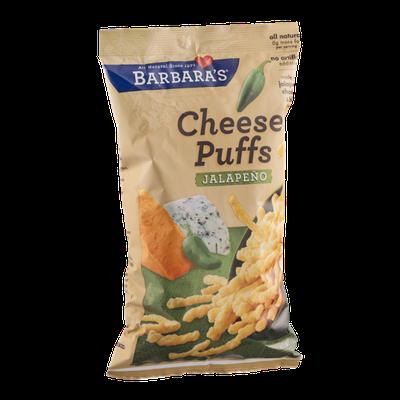Barbara's Cheese Puffs Jalapeno