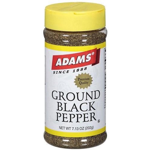 Adams Ground Black Pepper Spice, 202g