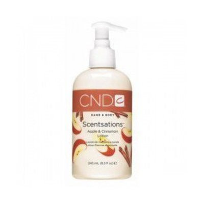 Cnd Cosmetics Creative Lotion 8.3 Oz Apple Cinnamon Hand & Body Lotion