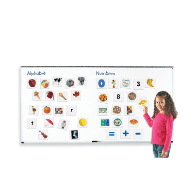 Learning Resources LER3546 Double Sided Magnetic Numbers