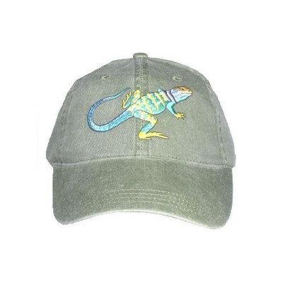Tom's Bird Feeders Collared Lizard Embroidered Cotton Cap