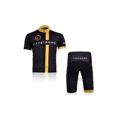 2012 Style LIVESTRONG cycling jersey Set short-sleeved jersey /Perspiration breathable