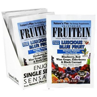 Fruitein Luscious Blue Fruit Shake Nature's Plus 8 (1.2 oz) Packet