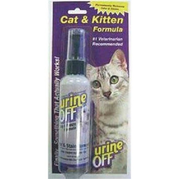 Urine off CUOPT4008 Urine off Cat/Kitten Spray, 4-Ounce