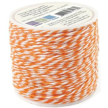 Hiller Industries Sew Easy Baker's Twine 50 Yards/Spool Orange