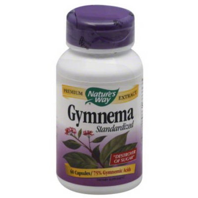 Nature's Way Gymnema Standardized Dietary Supplement Capsules, 60 count