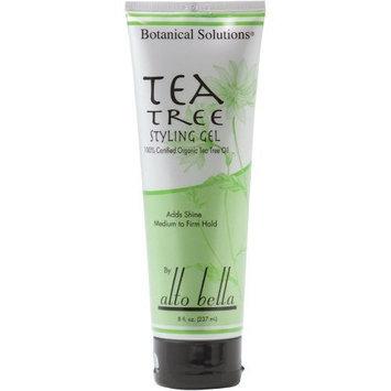 Alto Bella Tea Tree Styling Gel, 8 oz