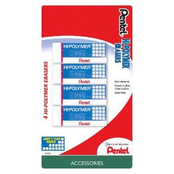 Pentel 4ct Hi-Polymer Eraser
