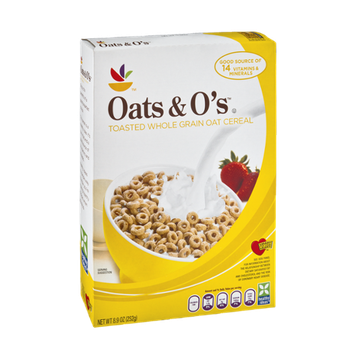 Ahold Oats & O's Toasted Whole Grain Oat Cereal