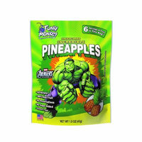 Funky Monkey Snacks, Hulk, Incredible Pineapples, 1.5 Ounce