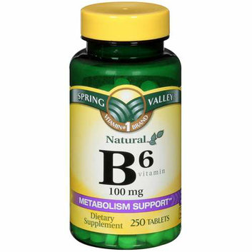 Spring Valley Vitamin B-6 100mg