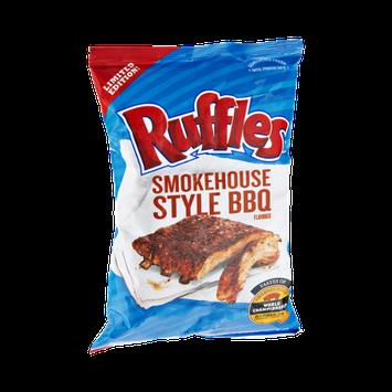 Ruffles Smokehouse Style BBQ Flavored Potato Chips