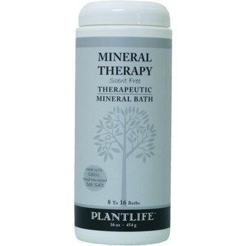 Plantlife Mineral (Scent Free) Bath Salts 16oz