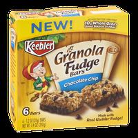 Keebler Granola Fudge Bars Chocolate Chip
