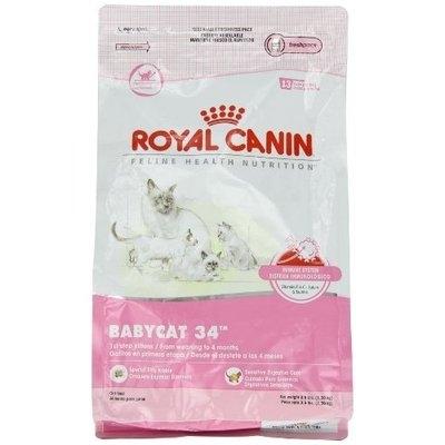 Royal Canin Dry Cat Food, Babycat 34 Formula, 3.5-Pound Bag