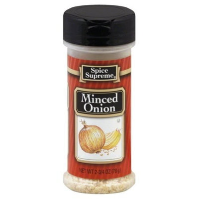 Spice Supreme Onion, Minced, 2.75-Ounce (Pack of 12)