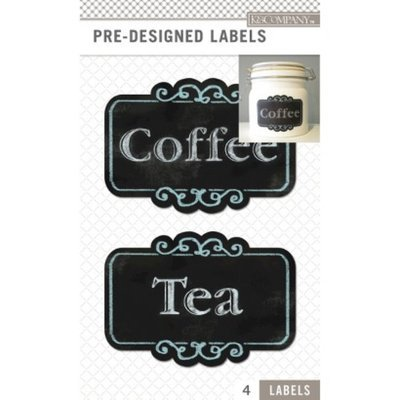 K&Company Predesigned Pantry Labels