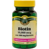 Spring Valley Biotin Tablets