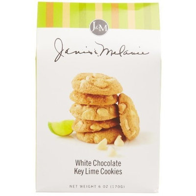 Jm Foods Cookies, White Chocolate Key Lime, 6-Ounce