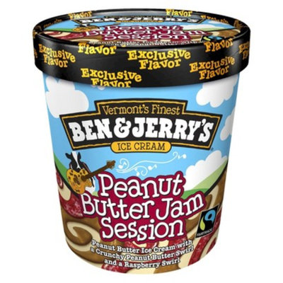 Ben & Jerry's Peanut Butter Jam Session Ice Cream 16 oz
