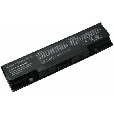 eN-Charge Replacement Dell Laptop Battery for Inspiron and Vostro Laptops, Black