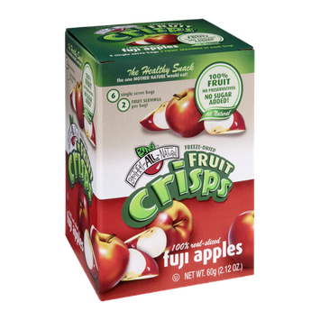 Brothers-All-Natural Fruit Crisps Fuji Apples - 6 CT