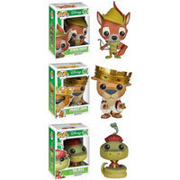 Funko Pop! Robin Hood Disney Vinyl Collectors Set: Robin Hood, Prince John, Sir Hiss