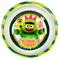 3 Piece Yo Gabba Gabba Bowl and Fork and Spoon Set
