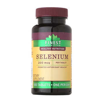 Finest Nutrition Selenium 200 MCG Tablets