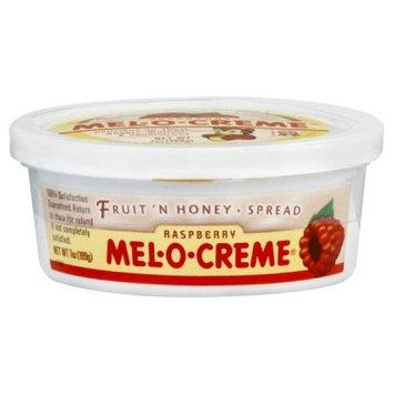 Mel O Cr me Mel O Creme Honey Spread Raspberry Fruit, 7-Ounce (Pack of 12)