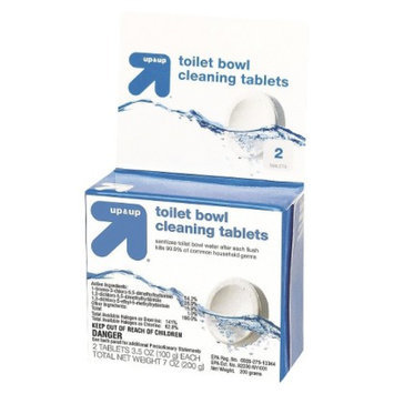 up & up Toilet Bowl Cleaning Tablets 2 ct