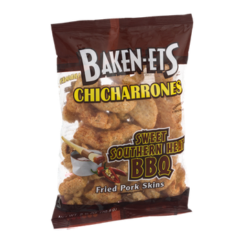 Baken-Ets Chicharrones Sweet Southern Heat BBQ Fried Pork Skins