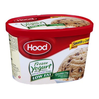 Hood Frozen Yogurt Low Fat Chocolate Chip
