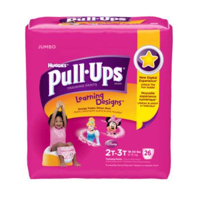 Huggies Pull-Ups Training Pants, 2T-3T, Girls, 25 ct
