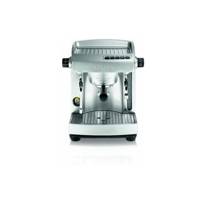 KRUPS XP618050 Full Stainless Steel Twin Thermo Block Professional Espresso Machine Silver HHK0KX81S-1614