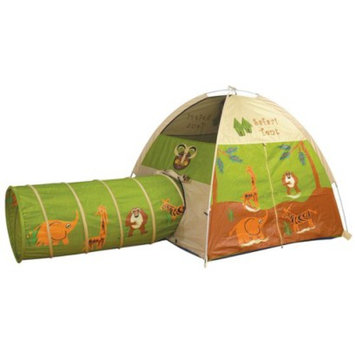 Pacific Playtents Jungle Safari Tent and Tunnel Combo