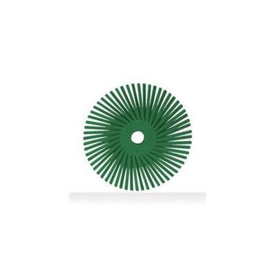 3M Abrasive 405-048011-24279 Scotch-Brite Radial Bristle Disc, Ceramic - 40 Per Case