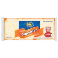 Crystal Farms Muenster Cheese, 8 oz