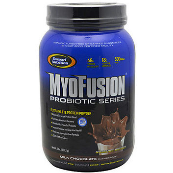 Gaspari Nutrition MyoFusion Probiotic Series Milk Chocolate Protein Powder