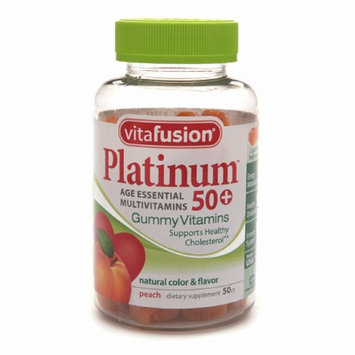 Vitafusion Platinum 50+ Multivitamin Gummy