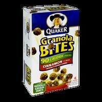 Quaker Life® 90 Calorie Pouches Cinnamon Granola Bites
