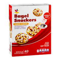 Ahold Bagel Snackers Three Cheese