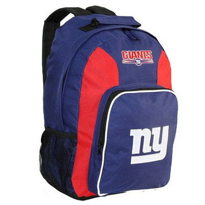 Concept One NFL New York Giants Southpaw Team Color Backpack - School Supplies