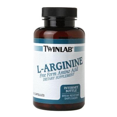 Twinlab L-Arginine Free Form Amino Acid, Capsules