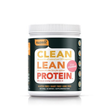 Clean Lean Protein Wild Strawberry NuZest 17.6 oz Powder