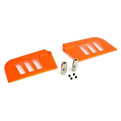 Flybar Paddle Set, Orange: B500 3D