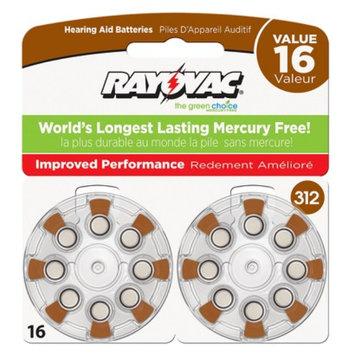 Spectrum Rayovac Size 312 16-pk. Hearing Aid Batteries