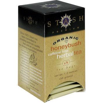 Stash Tea Premium Organic Honey Brush Herbal Tea